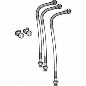 Kit de raccordement d'eau pour panneau sanitaire Geberit Monolith pour lavabo - 243.749.00.1 - GEBERIT   GENMA