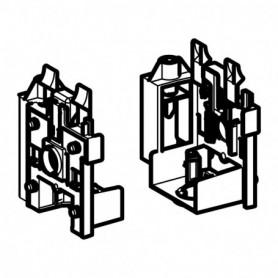 Set de consoles pour panneaux sanitaires Geberit Monolith pour WC et bidet - 243.994.00.1 - GEBERIT   GENMA