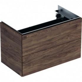 Meuble bas pour lavabo Geberit ONE avec deux tiroirs - 500.381.00.1 - GEBERIT   GENMA