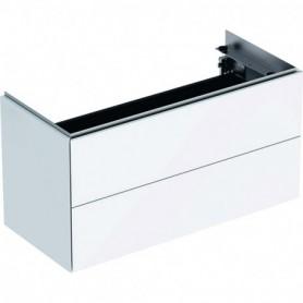 Meuble bas pour lavabo Geberit ONE avec deux tiroirs - 500.385.01.1 - GEBERIT   GENMA