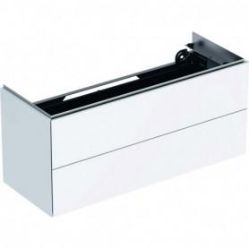 Meuble bas pour lavabo Geberit ONE avec deux tiroirs - 500.386.01.1 - GEBERIT   GENMA