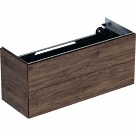 Meuble bas pour lavabo Geberit ONE avec deux tiroirs - 500.386.00.1 - GEBERIT   GENMA