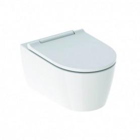 WC suspendu à fond creux Geberit ONE TurboFlush avec abattant WC - 500.201.01.1 - GEBERIT   GENMA