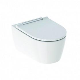WC suspendu à fond creux Geberit ONE TurboFlush avec abattant WC - 500.202.01.1 - GEBERIT   GENMA