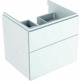 Meuble bas Geberit Xeno² pour lavabo avec deux tiroirs - 500.506.01.1 - GEBERIT | GENMA