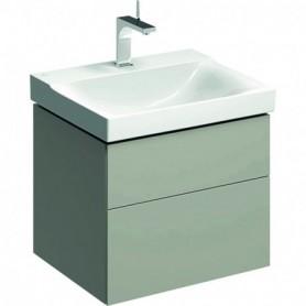Meuble bas Geberit Xeno² pour lavabo avec deux tiroirs - 500.506.00.1 - GEBERIT | GENMA