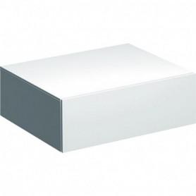 Meuble latéral bas Geberit Xeno² avec un tiroir - 500.507.01.1 - GEBERIT | GENMA