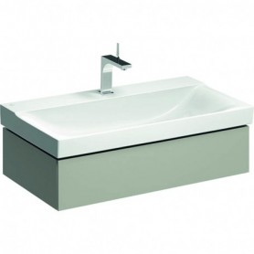 Meuble bas Geberit Xeno² pour lavabo avec un tiroir - 500.508.00.1 - GEBERIT | GENMA