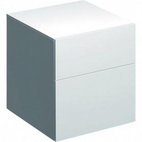 Meuble latéral bas Geberit Xeno² avec deux tiroirs - 500.504.01.1 - GEBERIT | GENMA