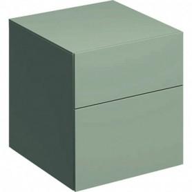 Meuble latéral bas Geberit Xeno² avec deux tiroirs - 500.504.00.1 - GEBERIT | GENMA