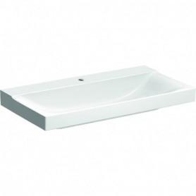 Lavabo Geberit Xeno²: B:90cm T:48cm Trou de robinet:Au centre - 500.531.01.1 - GEBERIT | GENMA