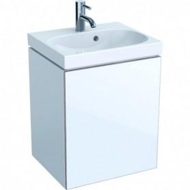 Meuble bas pour lave-mains Geberit Acanto une porte siphon - 500.608.01.2 - GEBERIT   GENMA