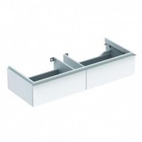 Meuble bas Geberit iCon pour lavabo avec une largeur à partir de 120 cm avec deux tiroirs - 840120000 - GEBERIT | GENMA