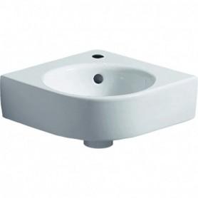 Lave-mains d'angle Geberit Renova Compact: B:45cm