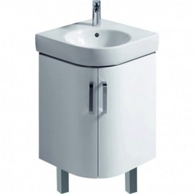 cabinet for corner handrinse basin