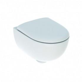 Kit de WC suspendu Geberit Renova Compact avec abattant WC: T:49cm