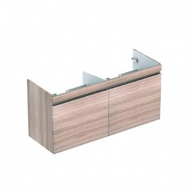 Meuble bas Geberit Renova Plan pour lavabo double