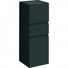 Colonne mi-haute Geberit Renova Plan avec deux portes et un tiroir: B:39cm
