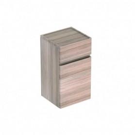 Meubles latéraux bas Geberit Renova Plan avec une porte et un tiroir: B:39cm