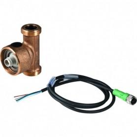 Capteur de température et de débit volumique Geberit pour gestion technique de b - 616.228.00.1 - GEBERIT | GENMA