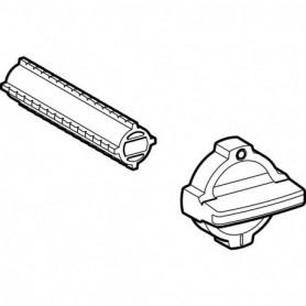 Kit de déclenchement manuel Geberit pour robinet à boisseau sphérique encastré - 243.658.00.1 - GEBERIT | GENMA