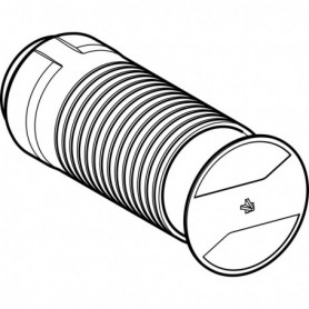 Kit de boîtier de réservation Geberit pour robinet à boisseau sphérique encastré - 243.660.00.1 - GEBERIT | GENMA
