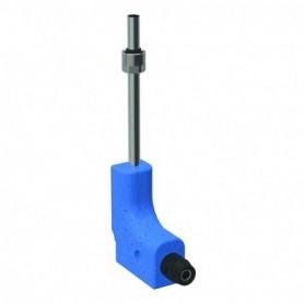 Coude de raccordement en tube métallique 90° Geberit PushFit avec boitier d'isol - 651.250.22.2 - GEBERIT   GENMA