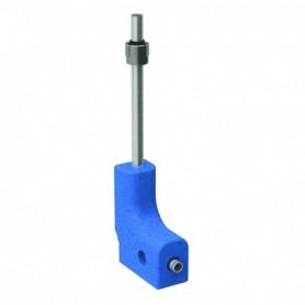 Coude de raccordement en tube métallique 90° Geberit Mepla avec boitier d'isolat - 611.250.22.7 - GEBERIT   GENMA