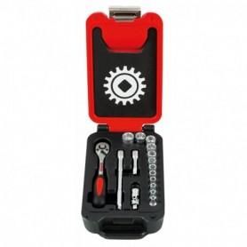 BOX SMALL 1/4 16 PIECES 6 PANS CLIQUET POIRE - 9415016001 - MOB MONDELIN | GENMA