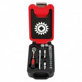 BOX SMALL 1/4 16 PIECES 12 PANS CLIQUET POIRE - 9415016101 - MOB MONDELIN | GENMA