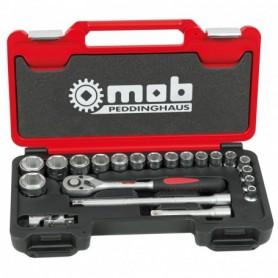 BOX MEDIUM 1/2 21 PIECES 6 PANS CLIQUET POIRE - 9435021001 - MOB MONDELIN | GENMA