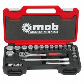 BOX MEDIUM 1/2 21 PIECES 12 PANS CLIQUET POIR - 9435021101 - MOB MONDELIN | GENMA