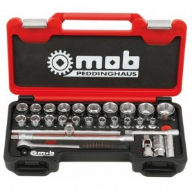 BOX MEDIUM  1/2 28 PIECES 6 P. CLIQUET ROND - 9436028001 - MOB MONDELIN | GENMA