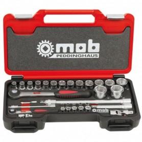 BOX MEDIUM 1/4+1/2 6 P. CLIQUET ROND 33 PCS - 9436033001 - MOB MONDELIN | GENMA
