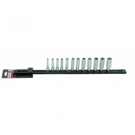 RACK 12 DOUILLES 6 PANS LONGUES 1/4 TAILLE 4 A 14MM - 9481012101 - MOB MONDELIN | GENMA