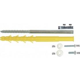 CHEV. UNIVERSELLE 12 X 200 M6-M8 Sachet de 2