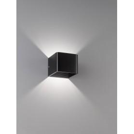 Applique cube murale noir - 30257 - FH