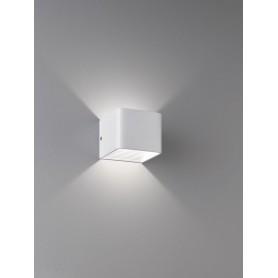 Applique cube blanc mat 1X LED 5W BLANC MAT