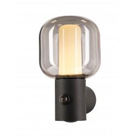 OVALISK, applique extérieure, anthracite, LED, 9,6W, 3000/4000K, détecteur de mouvement, interrupteur CCT, IP65 - 1004679 - SLV