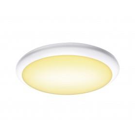 RUBA, applique et plafonnier extérieur, blanc, LED, 22W, 3000/4000K, interrupteur CCT
