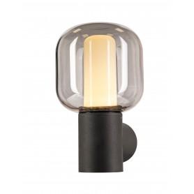 OVALISK, applique extérieure, anthracite, LED, 9W, 3000/4000K, interrupteur CCT, IP65