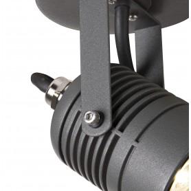 LED SPOT, applique extérieure, anthracite, LED, 6W, 3000K, IP65
