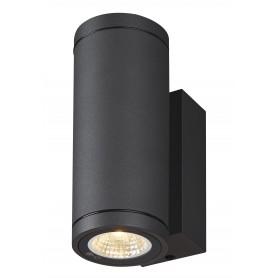 ENOLA, applique extérieure, rond, S, anthracite, LED, 7W, 3000K/4000K, IP65, up/down