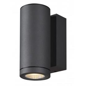 ENOLA, applique extérieure, rond, S, anthracite, LED, 6W, 3000K/4000K, IP65