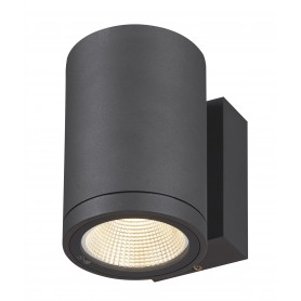 ENOLA, applique extérieure, rond, M, anthracite, LED, 10W, 3000K/4000K, IP65
