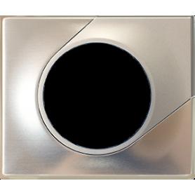 COMETE Plaque 1 poste TITANE - 61695 - EUROHM | GENMA