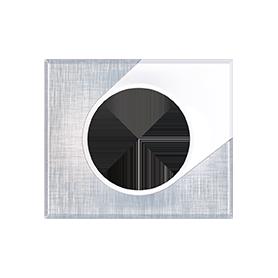 COMETE Plaque 1 poste SOUL - 62155 - EUROHM | GENMA