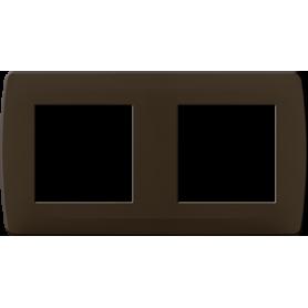 "Plaque ""chocolat"" 2 postes - 61994 - EUROHM | GENMA"