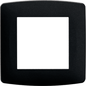 Plaque anthracite 1 poste - 61995 - EUROHM | GENMA