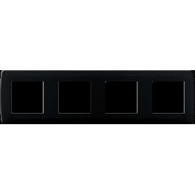 Plaque anthracite 4 postes - 61999 - EUROHM | GENMA